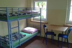 pokój z łóżkiem pietrowym